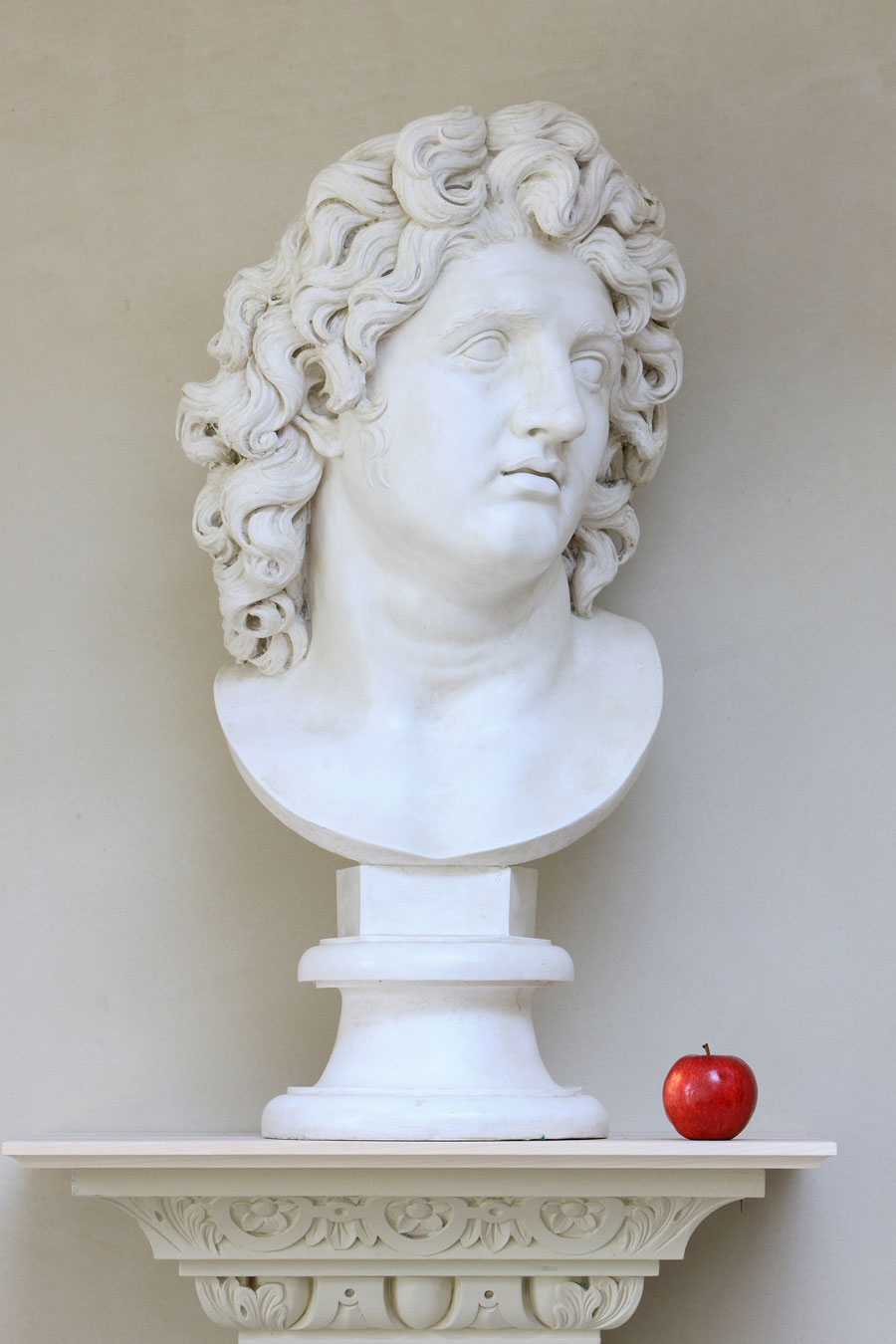 Copy of a Marble from a Portrait of Alexander the Great